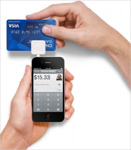 SquareUp Credit Card Smartphone Device and App